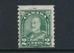 CANADA, 1930 2c Coil Stamp P Imperf X 8 , Fine, Cat £11 - Gebruikt