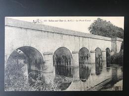 SELLES SUR CHER - Le Pont Canal - Selles Sur Cher