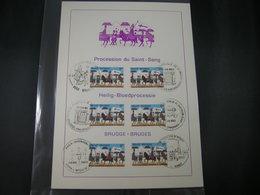 """BELG.1983 2090 FDC Filatelia Card: """" Heilig-Bloedprocessie Te Brugge / Procession Du Saint-sang à Bruges """" - 1981-90"""