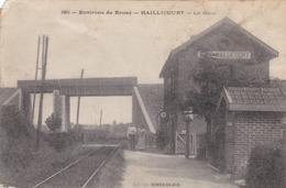 HAILLICOURT - BRUAY - PAS DE CALAIS - (62) - CPA 1915  - BEAU TAMPON.. - Sonstige Gemeinden
