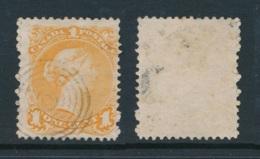 CANADA, 1868 1c Orange-yellow , Fine, SG56a, Cat £100 - 1851-1902 Regering Van Victoria