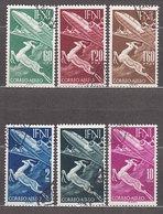 Ifni Correo 1953 Edifil 89/94 O - Ifni