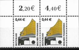 2002 Allem Fed. Deutschland     Mi. 2298** MNH  Sehenswürdigkeiten: Berliner Philharmonie - [7] République Fédérale