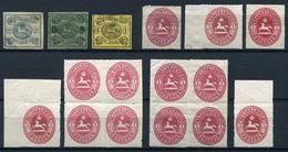 ALTDEUTSCHLAND - Posten Gestempelt, Postfrisch, Gefalzt, Unterschiedliche Erhaltung ....1 (G) - Lots & Kiloware (mixtures) - Min. 1000 Stamps