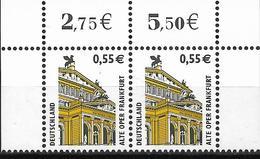 2002 Allem Fed. Deutschland     Mi. 2300** MNH  Sehenswürdigkeiten: Alte Oper, Frankfurt - [7] République Fédérale