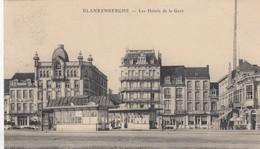 BLANKENBERGE / TRAMHALTES EN HOTELS AAN HET STATION - Blankenberge