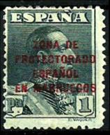 Marruecos Español Nº 89 Con Charnela - Marruecos Español