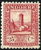 Andorra Española Nº 20d  En Nuevo - Andorra Española