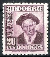 Andorra Española Nº 48 En Nuevo - Andorra Española