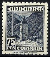 Andorra Española Nº 52 Con Charnela - Andorra Española
