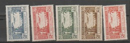 GUINEE            N° YVERT    PA 1/5  NEUF SANS CHARNIERES     ( Nsch   1/36 ) - French Guinea (1892-1944)