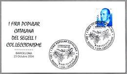 Matasellos I FIRA POPULAR CATALANA DEL SEGELL. Barcelona 2004 - 1931-Hoy: 2ª República - ... Juan Carlos I