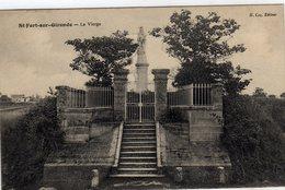St Saint Fort Sur Gironde La Vierge - Frankreich