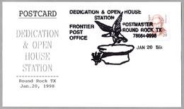 Dedication & Open House. AGUILA - EAGLE. Round Rock TX 1998 - Águilas & Aves De Presa