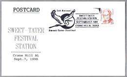 Sweet-Tater Festival - GRULLA - CRANE. Crane Hill AL 1998 - Aves Gruiformes (Grullas)