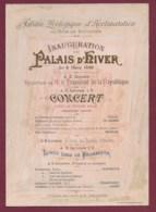 160719 - CHROMO Grand Format Inauguration Palais D'hiver Jardin Zoologique D'acclimatation 1893 Concert Pister - Autres