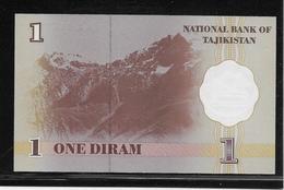 Tadjikistan - 1 Diram - Pick N°10 - NEUF - Tadschikistan