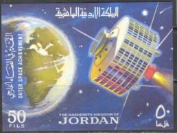 M1151 Space Raumfahrt Kosmos Satellites 1965 Jordan S/s MNH ** 19ME - Asia