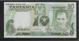 Tanzanie - 10 Shiling - Pick N°6c - NEUF - Tanzanie