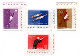 1960 - SAINT-MARIN - SAN MARINO - Catg. Unif. A132/135 - NH - (SM2017.27...) - Airmail