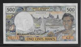 Tahiti - 500 Francs - Pick N°25 - NEUF - Banknotes