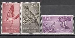 Sahara Correo 1958 Edifil 153/5 ** Mnh - Sahara Español