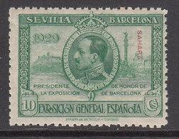 Sahara Sueltos 1929 Edifil 26 ** Mnh - Spaanse Sahara