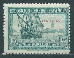 Sahara Sueltos 1929 Edifil 27 ** Mnh - Spaanse Sahara