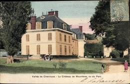 Cp Chevreuse Yvelines, Chateau De Mauvieres, Vu Du Parc - France