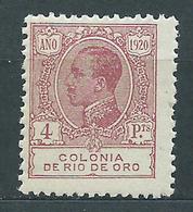 Rio De Oro Sueltos 1920 Edifil 128 ** Mnh - Rio De Oro