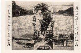 Sicilia - Messina - Milazzo - 17- Turistica Ed Agricola, Capolinea Con Le Isole Eolie, Collegata A Tindari E Taormina - - Messina