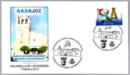 Presentacion 12 Meses 12 Sellos IGLESIA DEL DIVINO SALVADOR. Calzadilla De Los Barros, Badajoz, 2019 - Iglesias Y Catedrales
