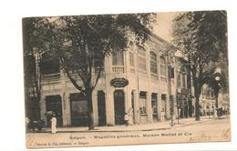 INDOCHINE 1906 C.P. De SAIGON  MAGASINS MOTTET ET Cie - Indochine (1889-1945)