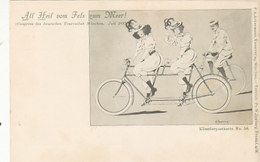 Congress Des Deutschen Tourenclub München 1897 - Signiert          (190716) - Radsport