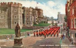 GUARD RETURNING FROM WINDSOR CASTLE-VIAGGIATA 1960 - Windsor Castle