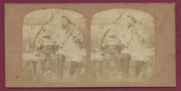 160419A - PHOTO STEREO - Musique Musicien Chanteur Violon Violoniste Artiste - Stereoscopio