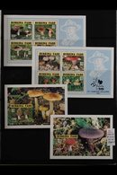 FUNGI ON STAMPS - AFRICA An Outstanding Collection Of Mushrooms / Fungi On Never Hinged Mint Africa Sets, Miniature Shee - Unclassified