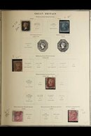 GB AND COMMONWEALTH 1940 - 1960 In Scott Printed Album Including Many Complete Sets And Better Values With GB Incl 1840  - Non Classificati