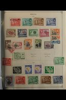1940s-80s WORLD COLLECTION MINT & USED Housed In FIFTEEN Large Albums, ALL DIFFERENT On Printed Pages, Albums Look Spars - Unclassified