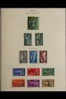 JUDAICA & ISRAEL-RELATED MORE LIKE A PHILATELIC SCRAP BOOK Than Simply A Collection Of Stamps & Covers, We See Stamp Exh - Unclassified