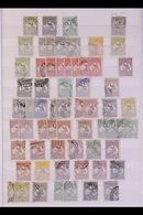 BRITISH COMMONWEALTH 19th Century To 1970's Some Mint But Mostly Used Stamps With Light Duplication In Two Stockbooks, I - Unclassified