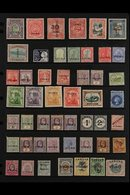 "BRITISH COMMONWEALTH ""SPECIMEN"" OVERPRINTS 1880's-1920's All Different Collection Of Mint Stamps With ""Specimen"" Overpri - Non Classificati"