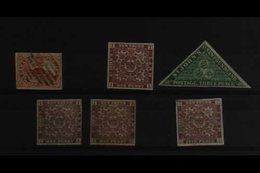 CANADIAN PROVINCES MINT / UNUSED & USED ACCUMULATION, All Different, Incl. Canada 1852-7 3d Red Beaver 4 Margins Used, N - Non Classificati