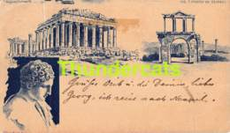 CPA GREECE GRECE 1897 ( PLI - CREASE ) - Grèce