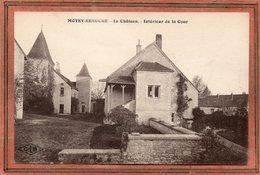 CPA - MOTEY-BESUCHE (70) - Aspect De L'intérieur De La Cour Du Château Dans Les Années 20 - Frankreich