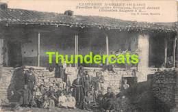 CPA CAMPAGNE D'ORIENT 1914 1917 FAMILLES REFUGIEES GRECQUES FUYANT DEVANT L'EVASION BULGARE - Grèce