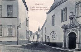 Enghien - Edit. Van Den Heuvel - La Rue Des Augustins Et L' Eglise Des Pères Jésuites - Enghien - Edingen