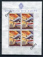 1965 - SAINT-MARIN - SAN MARINO - Catg. Unif. BF 37 - NH - (SM2017.27...) - Blocchi & Foglietti