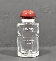 Miniatures De Parfum  AMAZONE  De Hermès  EDT VIDE  7 Ml   HAUTEUR  5.3 Cm - Modern Miniatures (from 1961)