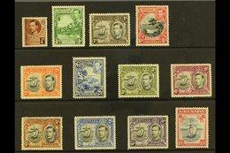 1938-50 KGVI Pictorial Set, SG 152/63e, Fine Mint (12 Stamps) For More Images, Please Visit Http://www.sandafayre.com/it - Grenada (...-1974)